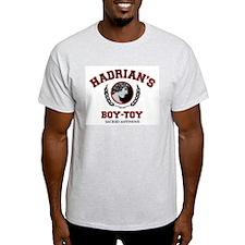 Hadrian's Boy-Toy Ash Grey T-Shirt