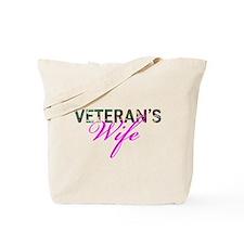 BDU Army Vet Wife Tote Bag