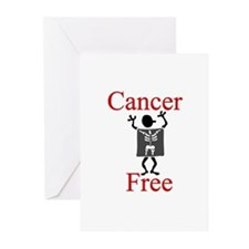 Cancer Free Greeting Cards (Pk of 10)