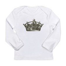 Crown Long Sleeve Infant T-Shirt