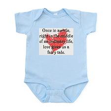 Baby girl gifts, Fairy Tale Love Infant Bodysuit