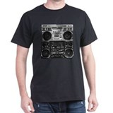 Boomboxes BW T-Shirt