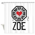 I Heart Zoe - LOST Shower Curtain