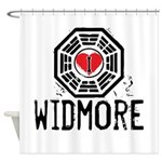 I Heart Widmore - LOST Shower Curtain