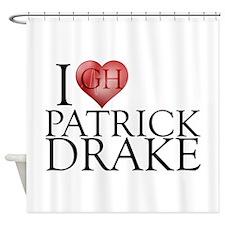 I Heart Patrick Drake Shower Curtain