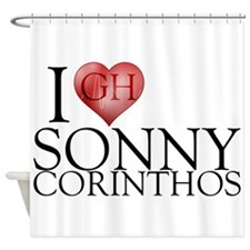 I Heart Sonny Corinthos Shower Curtain