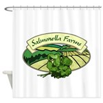 Salmonella Farms - Cilantro Shower Curtain