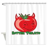 Rotten Tomato Shower Curtain
