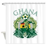 Ghana Soccer Shower Curtain