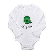 Lil Gator Long Sleeve Infant Bodysuit