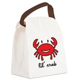 crab_7x7_apparel.png Canvas Lunch Bag