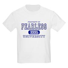 Fearless University Kids T-Shirt