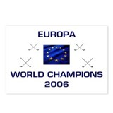 Europa - Golf Champions 2006 Postcards (Package of