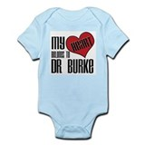 Heart Belongs To Dr. Burke Onesie