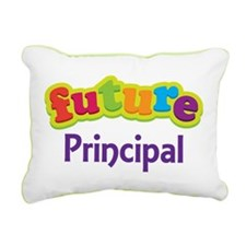Future Principal Rectangular Canvas Pillow