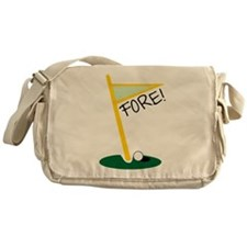 Golf Fore Messenger Bag