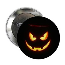 Evil Glowing Jack o'Lantern Pin