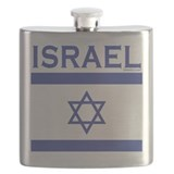 Israel Flag Flask