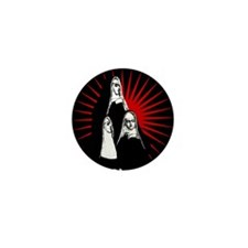 Nuns Graphic Mini Button