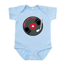 Vinyl Record Best Infant Bodysuit