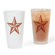 Western Star Drinking Glass