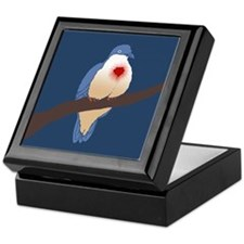 Bleeding Heart Dove Keepsake Box