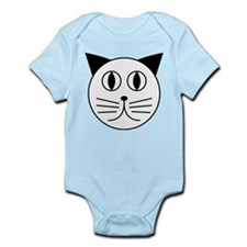 Cute Kitty Cat Face Onesie