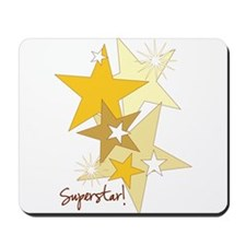 Gold Stars Superstar Mousepad