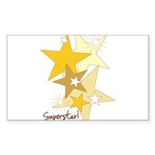 Gold Stars Superstar Decal
