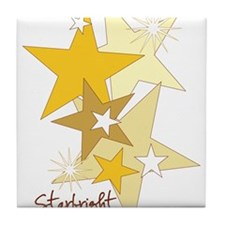 Starbright Stars Tile Coaster
