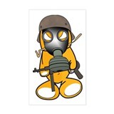 Gamestah Sticker (GasMask)