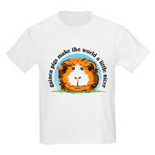 Guinea pigs make the world... Kids T-Shirt