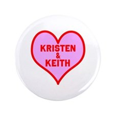 """Personalized with names Valentines day heart 3.5"""""""
