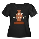 burntmud-d-muddy Plus Size T-Shirt