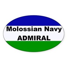 Molossian Navy Admiral Decal