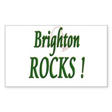 Brighton Rocks ! Rectangle Decal
