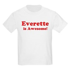 Everette is Awesome Kids T-Shirt