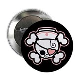 "Dolly Heart RN 2.25"" Button"