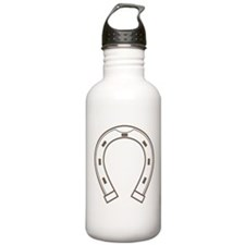 Cool Retro Horseshoe Water Bottle