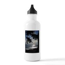 Trees Silhouette Water Bottle