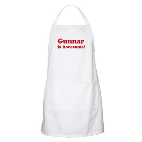 Gunnar is Awesome BBQ Apron