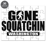 Gone Squatchin Washington *State Edition* Puzzle