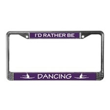 Cute Dancer License Plate Frame