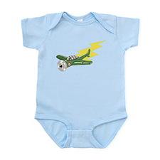 Small Plane Infant Bodysuit