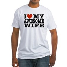 I Love My Awesome Wife Shirt