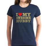I Love My Awesome Hubby Tee