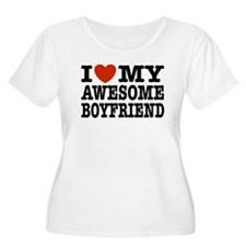 I Love My Awesome Hubby T-Shirt