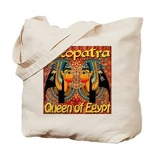 Cleopatra Queen Of Egypt Persian Carpet Tote Bag