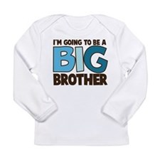 big brother blue Long Sleeve T-Shirt