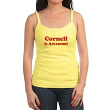 Cornell is Awesome Jr.Spaghetti Strap